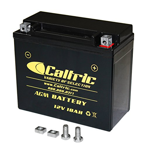 CALTRIC AGM BATTERY compatible with YAMAHA GRIZZLY 700 YFM700 YFM-700 4WD FI EPS 2007-2016