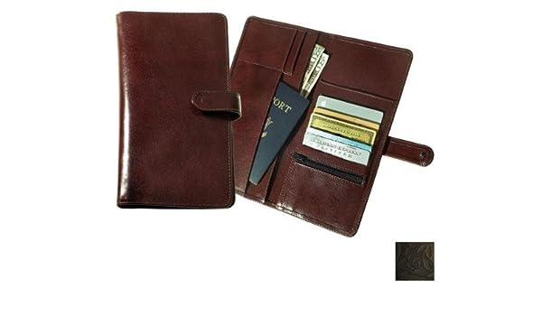 Raika Leather Deluxe Travel Snap Wallet
