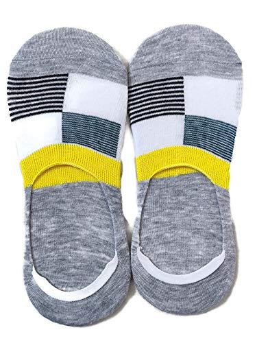 Multicolor Ankle Length No Show Socks for Men and Boys