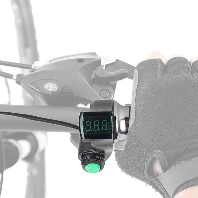 Electric Bike Throttle Grip Handlebar Twist Throttle Handlebar Grips For Electric Vehicles VGEBY1 Throttle Grips Electric Bicycles