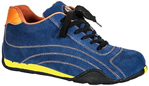 Seba 570CE Langsame Schuh S1P SRC HRO, blau, Größe 43