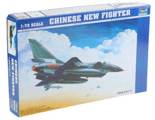 トランペッター 1/72 中国軍 J-10戦闘機 プラモデル
