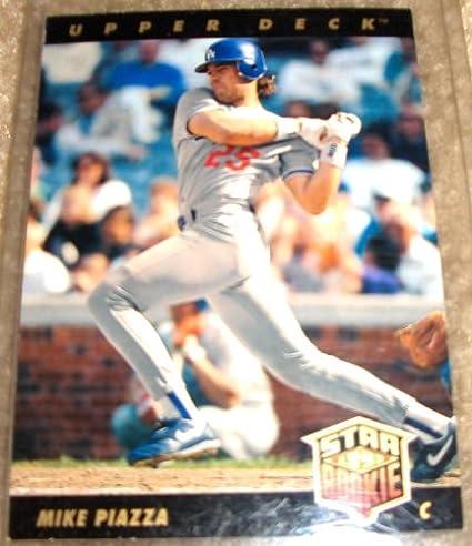 1993 Upper Deck Mike Piazza Rookie Card 2 Mlb Baseball Trading