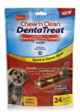 Hartz Chew n' Clean DentaTreat Bacon & Cheese Flavored Dental Dog Treat – Small, 24 Pack Review