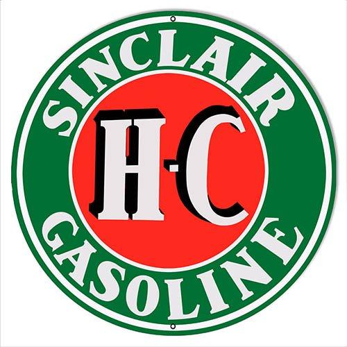 sinclair motor oil sign - 6