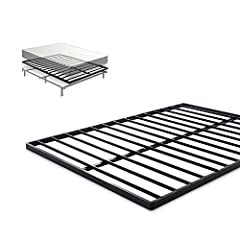 The Zinus 1.6 inch quick lock Bunkie board offers a slim, strong and sturdy foundation foryour spring, memory foam, or Hybrid mattress. Made of premium steel and featuring the easy to assemble quick lock construction, the Zinus Bunkie board ...