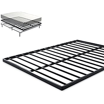 Zinus Easy Assembly Quick Lock 1.6 Inch Bunkie Board / Mattress Foundation / Bed Slat Replacement, Queen