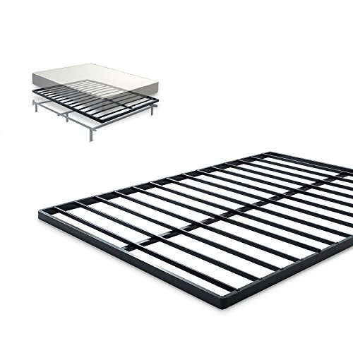 - Zinus Easy Assembly Quick Lock 1.6 inch Bunkie Board/Mattress Foundation/Quick and Easy Assembly, Queen