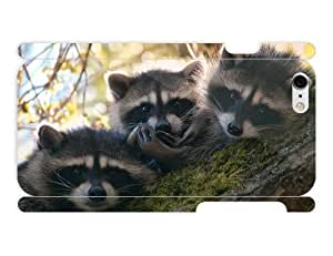 iPhone 6 cover case Animals - Cute Raccoons by heat sublimation