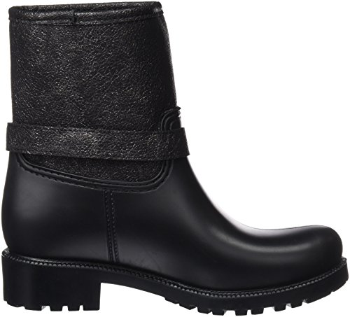Break & Walk Damen Hi222005 Plissierte Stiefel Black (Schwarz)