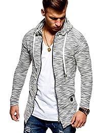 Men's Cardigan Sweater Jacket With Zipper MT-7531