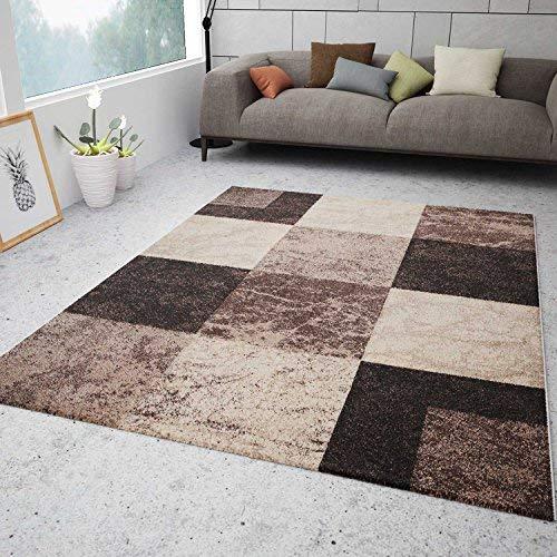VIMODA Wohnzimmer Teppich Modern Schwarz Rot Grau Marmor Stein Stein Stein Optik Velours, Maße 120x170 cm B01MQYSSVN Teppiche 44f75c