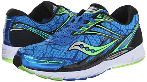 Saucony Running Break Thru, Blue-Slime, 44(EU)