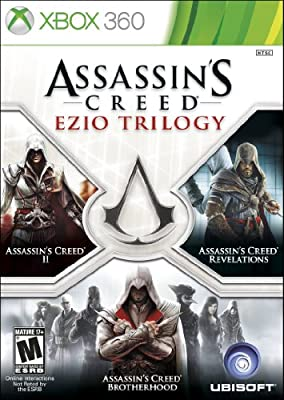Assassins Creed - Ezio Trilogy Edition xbox 360 by Ubisoft ...