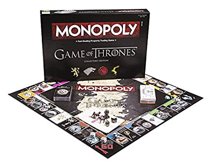USAOPOLY Monopoly Game of Thrones Board Game | Collectable Monopoly Game | Official Game of Thrones Merchandise | Based on The Popular TV Show on HBO ...