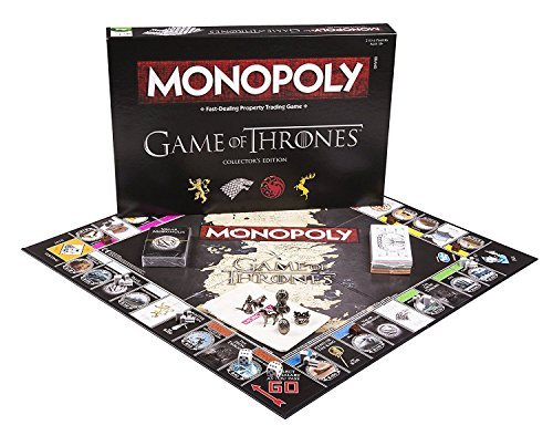 monopoly game of thrones collector 39 s edition board game. Black Bedroom Furniture Sets. Home Design Ideas