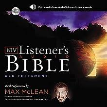 NIV, Listener's Audio Bible, Old Testament, Audio Download Audiobook by Zondervan Narrated by Max McLean