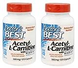 Doctor's Best Best Acetyl L-carnitine featuring Sigma Tau Carnitine, 588 mg Capsules - 51fL6u0ME3L - Doctor's Best Best Acetyl L-carnitine featuring Sigma Tau Carnitine, 588 mg Capsules