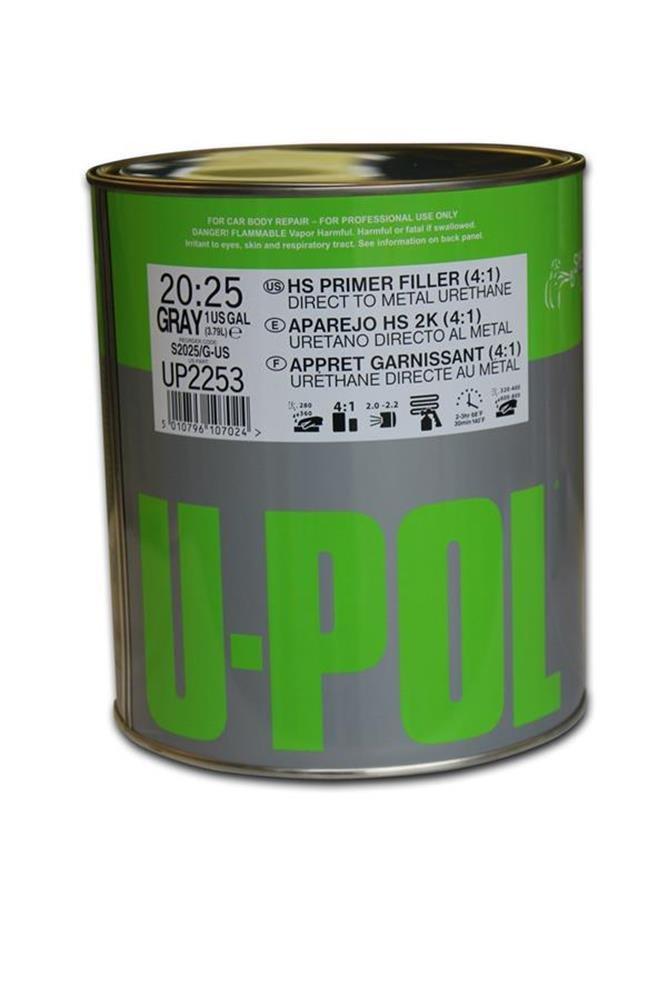 U-Pol Products 2253 System 2025 DTM 2K Hs Urethane Primer Filler - 1 Gallon by U-Pol