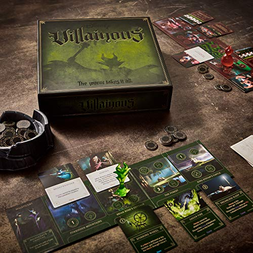 51fL7Dv2VaL - Ravensburger Disney Villainous Strategy Board Game for Age 10 and Up - 2019 TOTY Game of the Year Award Winner