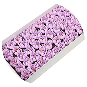 Baby hunter station 50Pcs/Set Soap Asters Flowers Head Artificial Flowers for Home Wedding Party Decoration Ball Craft Fake Flowers,C5 70