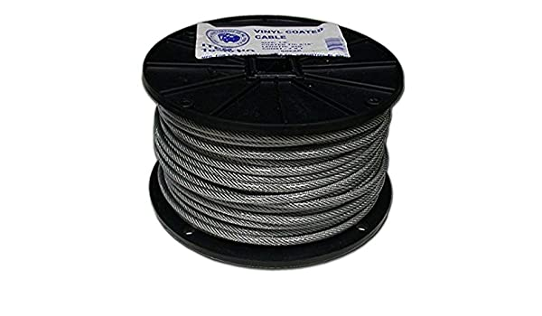 T.W Evans Cordage 19-301 Stainless Steel Cable 3//16 x 250-Feet