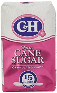 C & H Sugar Company Granulated Sugar, 4 lb