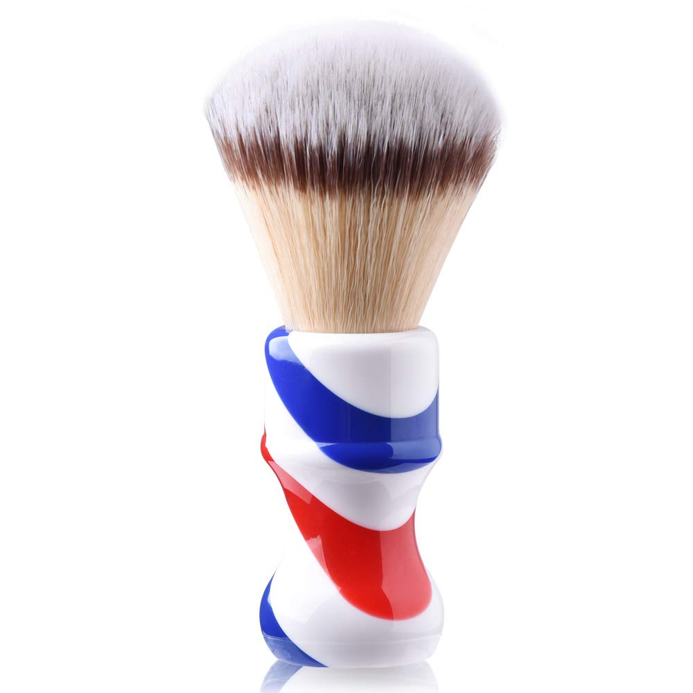 Je&Co Luxury Shaving Brush for Men, 24mm Dense Knot with Classical Handle