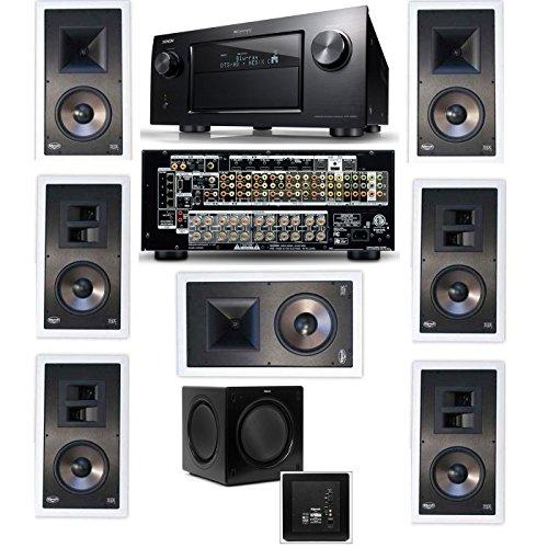 Klipsch KL-7800-THX 7.1 In-Wall-SW-310-Denon IN-Co...