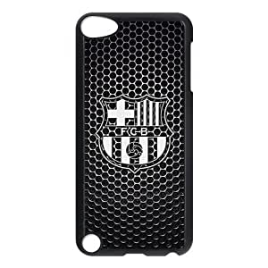 FC Barcelona Logo Image Snap On Hard Plastic Ipod Touch 5th Case