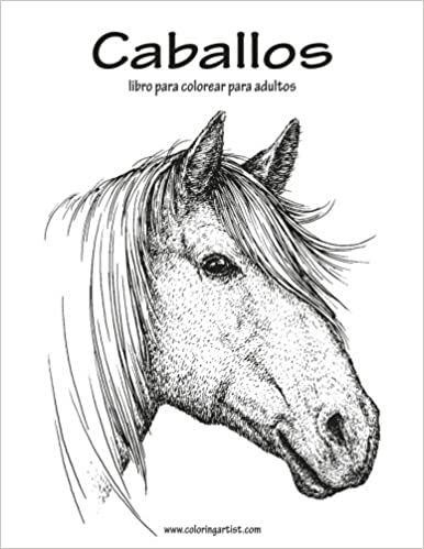 Amazon.com: Caballos libro para colorear para adultos 1 (Volume 1 ...