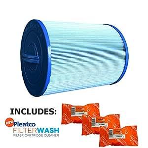 Cartucho de filtro Pleatco Waterway acceso frontal espumadera (requiere 2) no adaptador w/3x Filtro lavados