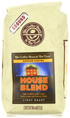 The Coffee Bean & Tea Leaf Lunch-hook-Roasted House Blend Ground Coffee, 12 oz Bag