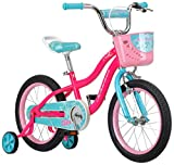 Schwinn Elm Girl's Bike, Featuring SmartStart Frame to Fit Your Child's Proportions, 16inches Wheels, Pink