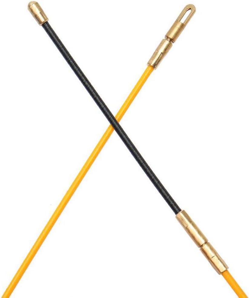 kesoto 30M Cable /Électrique de Fibre de Verre de Dispositif de Guide de 3mm Poussent des Extracteurs Conduisent Fil de Bande de Poissons de Rodder