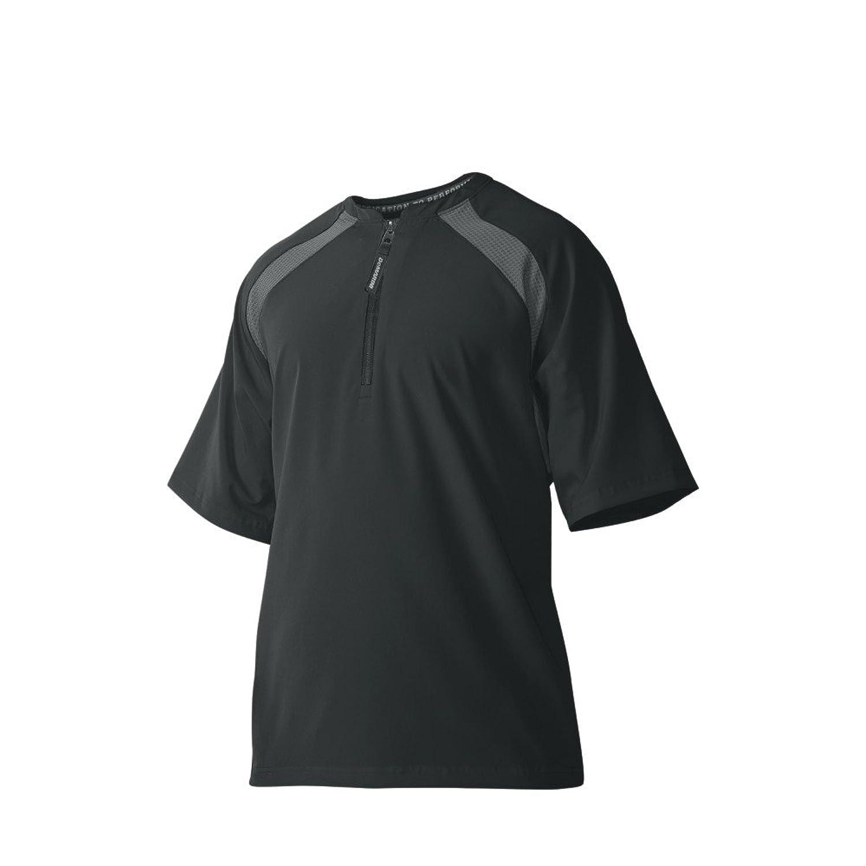 ウイルソン ディマリニ(DeMARINI) 半袖BPジャケット(Mサイズ) WTD9555BLM ブラック M【Mens】 B00LO9RXOC