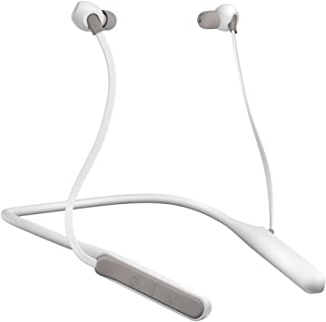 Amazon Com Jam Tune In Bluetooth Neckband Style Headphones 30 Ft Range 12 Hour Playtime Hands Free Calling Sweat And Rain Resisitant Ipx4 Workout Earbuds Gray Hx Epc202gy Electronics