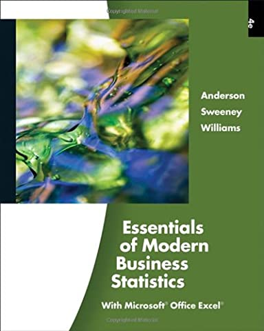Essentials of Modern Business Statistics (with Online Material Printed Access Card) (Available Titles (Modern Business Statistics)