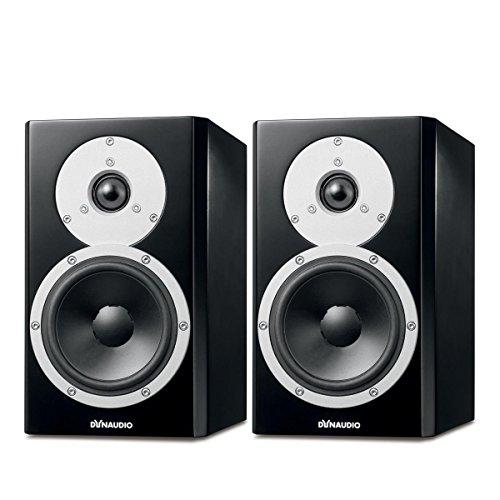 Dynaudio Excite X14A Powered High-End Bookshelf Speakers - Pair (Satin Black)