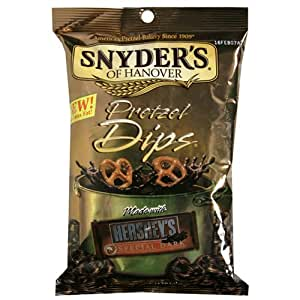 Snyder's of Hanover Special Dark Chocolate Pretzels Made with Hershey's 7-Ounce Packages (Pack of 18)