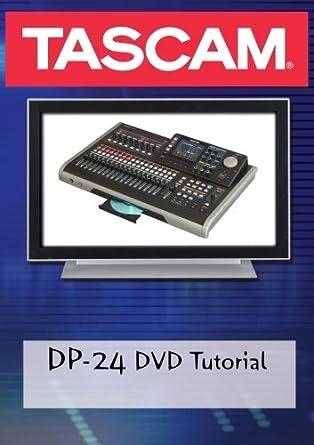 Tascam dp-24 digital portastudio manual.