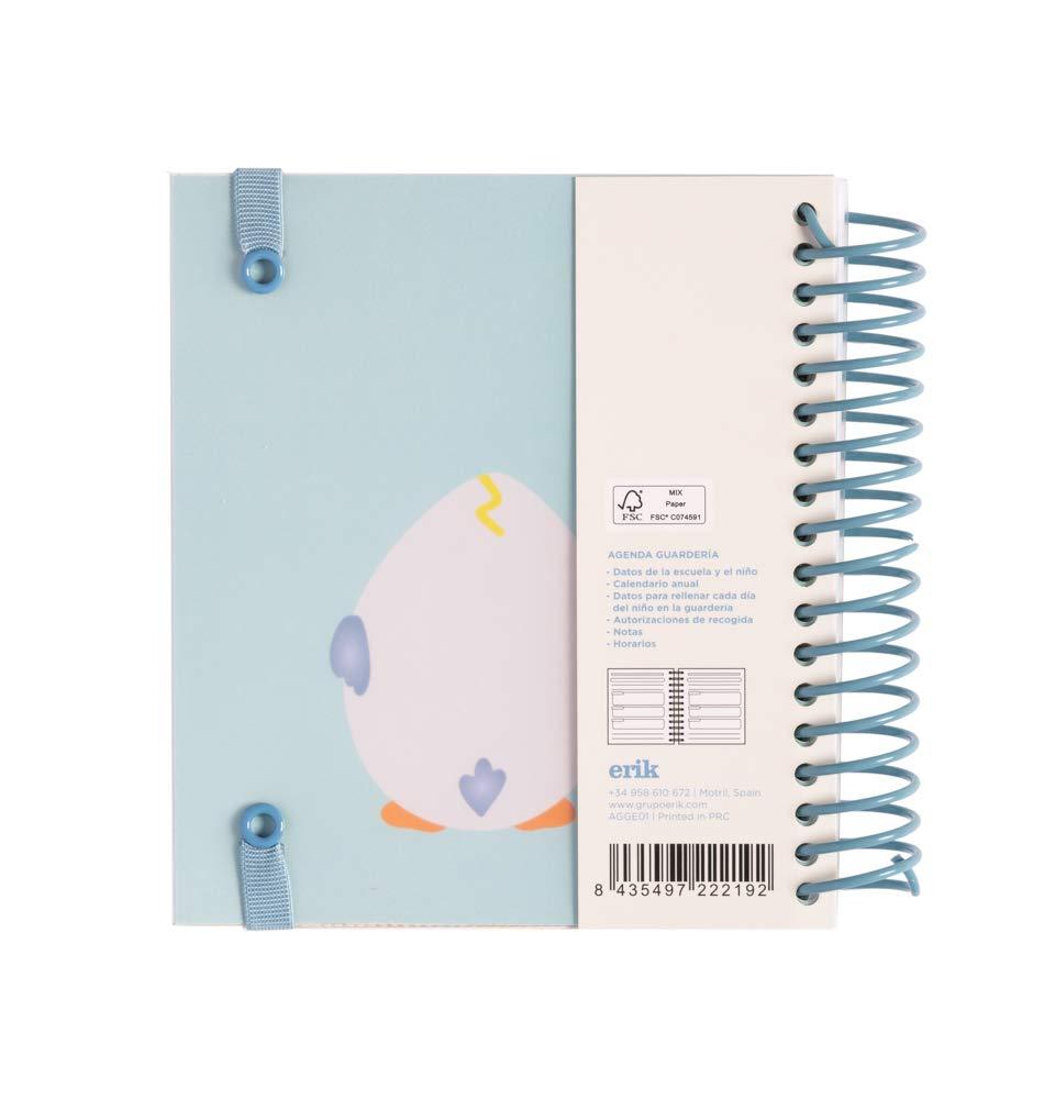 ERIK- Agenda educación infantil perpetua Eggie 14 x 16cm