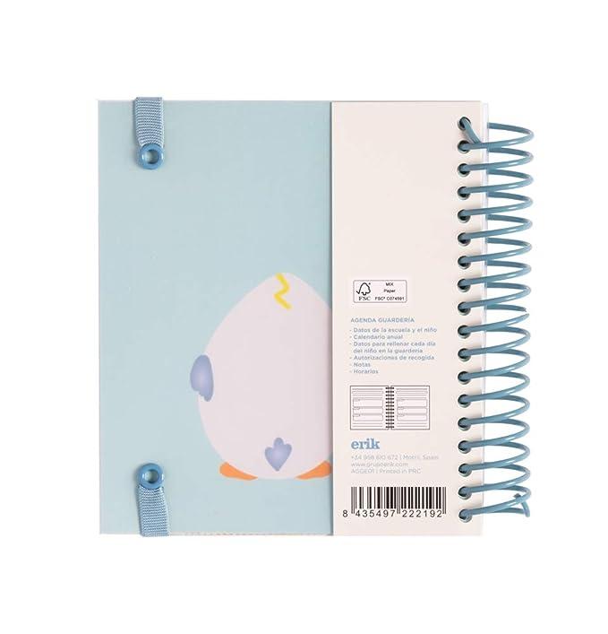 ERIK- Agenda educación infantil perpetua Eggie 14 x 16cm ...