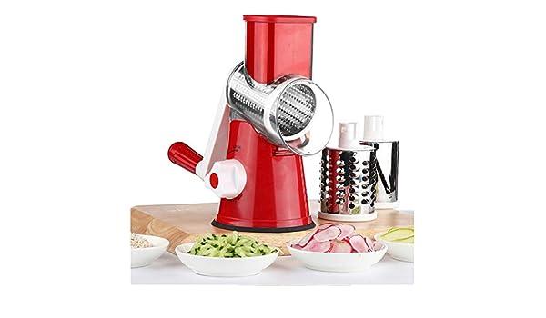 Rallador de Verduras Espiral Manual Rallador Cocina Patata Espiral ...