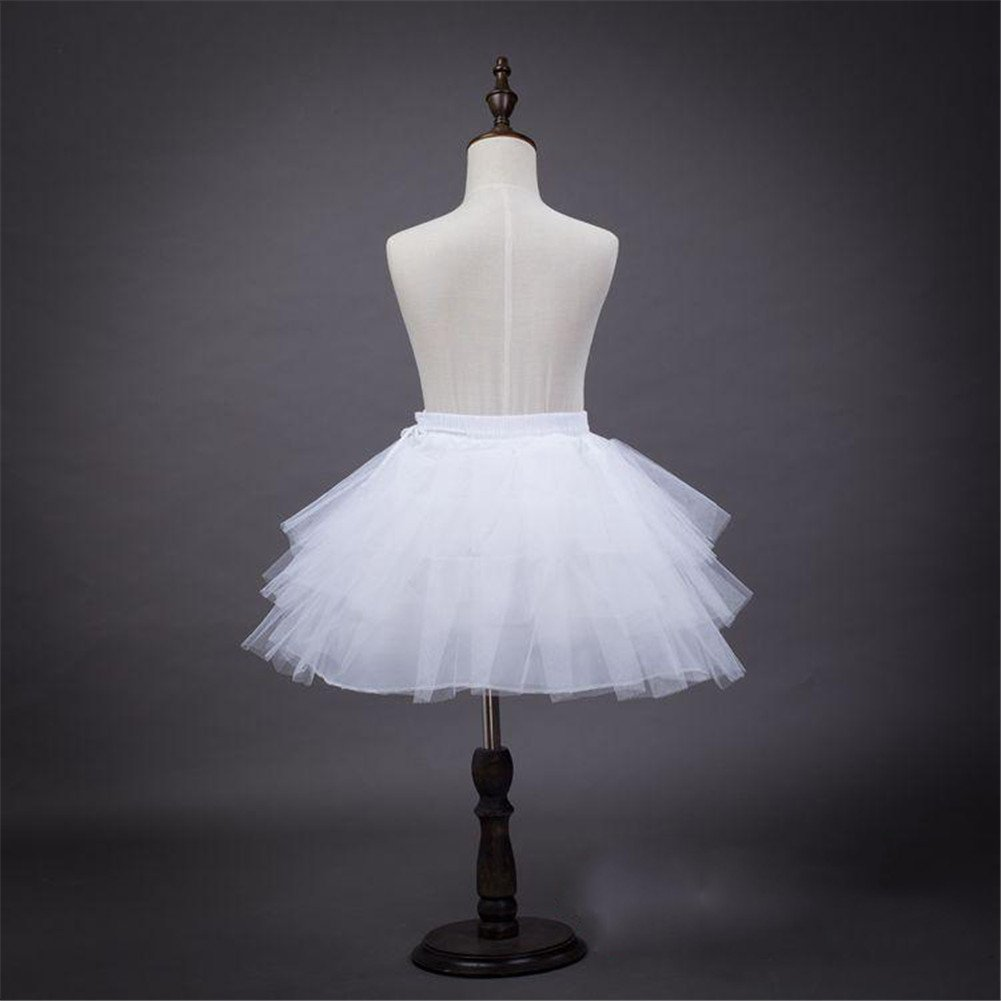 Mud Kingdom Girls Petticoat for Ball Gown NO Hoop