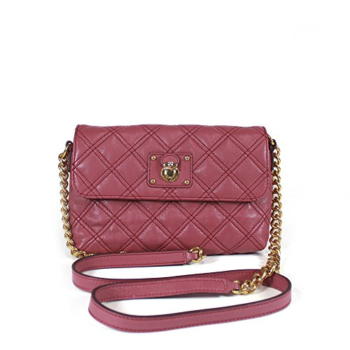 Marc Jacobs Classic Quilted The Single Crossbody, Peony