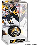 Jake Guentzel Pittsburgh Penguins 2017 Stanley Cup Champions Autographed Champs Logo Puck with Deluxe Tall Hockey Puck Case - Fanatics Authentic Certified