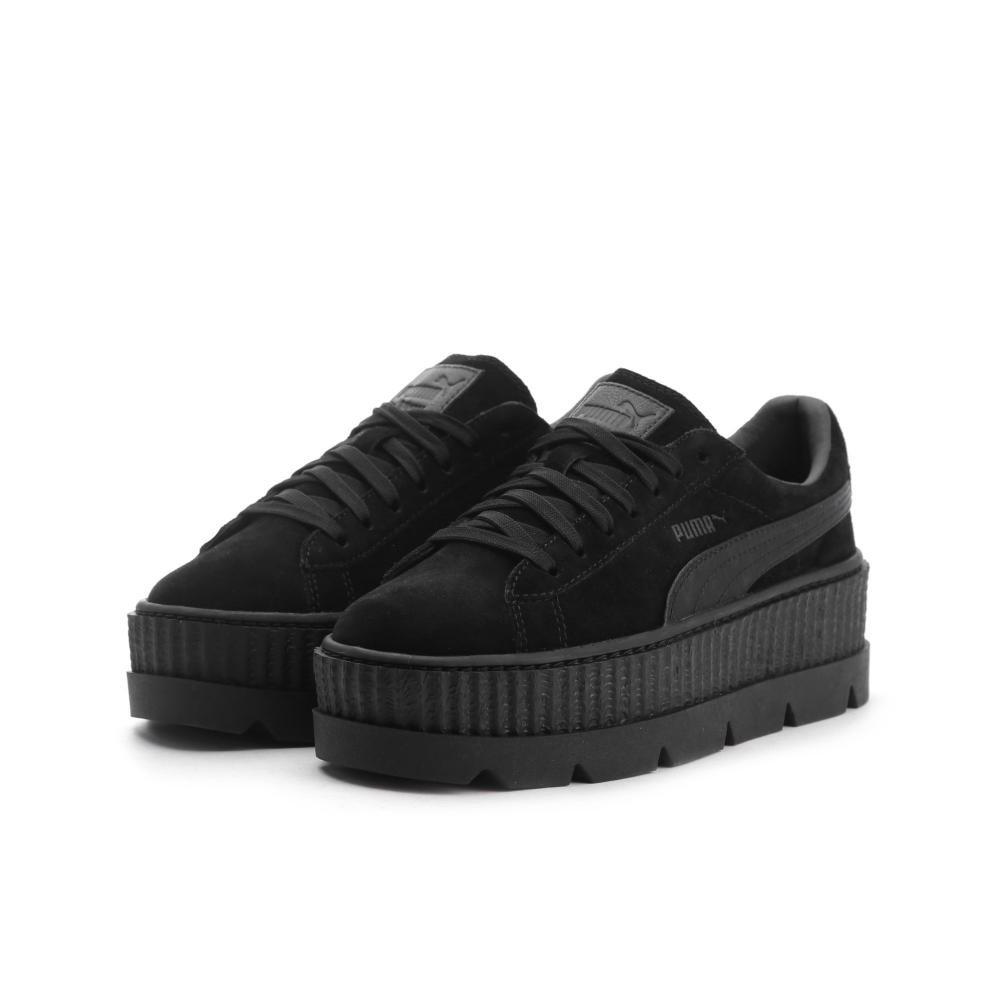 PUMA Womens Fenty by Rihanna Tan Cleated Creeper 36626802 Sneakers Shoes B074KK2PTP 7.5 B(M) US|Black