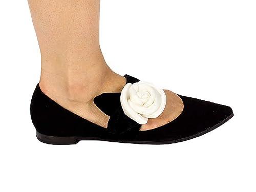 6c2e9a4cbe2d7 Fabi Black Suede Italian Designer Women Flats Shoes (39EU 9US ...