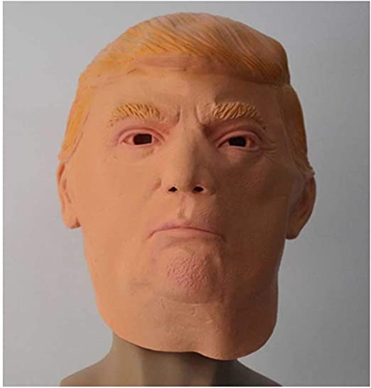 KLJJQAQ Halloween Donald Trump Máscara De Látex Multimillonario ...